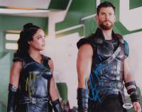 "Chris Hemsworth & Tessa Thompson Signed ""Thor: Ragnarok"" 11x14 Photo Inscribed ""Thor!"" (PSA Hologram) at PristineAuction.com"