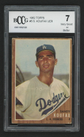 Sandy Koufax 1962 Topps #5 (BCCG 7) at PristineAuction.com