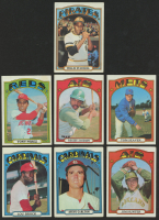 Lot of (7) 1972 Topps Baseball Cards with #435 Reggie Jackson, #447 Willie Stargell, #445 Tom Seaver, #200 Lou Brock at PristineAuction.com