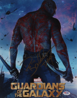 """Dave Bautista Signed """"Guardians Of The Galaxy"""" 11x14 Photo Inscribed """"Drax"""" (PSA Hologram) at PristineAuction.com"""