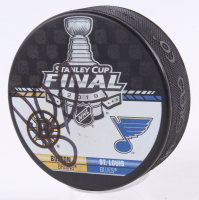 Bruce Cassidy Signed 2019 Stanley Cup Final Logo Hockey Puck (JSA COA) at PristineAuction.com
