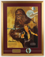 Vintage 1977 Coca Cola Star Wars 24x31 Custom Framed Poster Display at PristineAuction.com