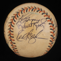 1992 All-Star Logo Baseball Signed by (12) with Cal Ripken Jr., Ken Griffey Jr., Mark McGwire, Wade Boggs, Joe Carter (JSA ALOA) at PristineAuction.com