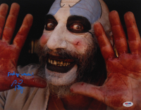 """Sid Haig Signed """"The Devil's Reject's"""" 11x14 Photo Inscribed """"F*** Yo Momma"""" (PSA Hologram) at PristineAuction.com"""
