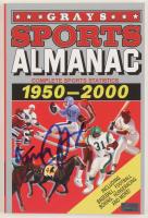 "Michael J. Fox Signed ""Grays Sports Almanac: 1950-2000"" Paperback Book (PSA COA) at PristineAuction.com"
