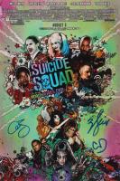 "Adam Beach, Cara Delevingne & Will Smith Signed ""Suicide Squad"" 12x18 Photo (AutographCOA Hologram) at PristineAuction.com"