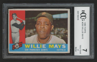 Willie Mays 1960 Topps #200 (BCCG 7) at PristineAuction.com