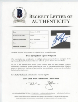 """Bruce Springsteen Signed 39"""" Electric Guitar (Beckett LOA) at PristineAuction.com"""