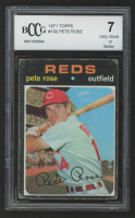 Pete Rose 1971 Topps #100 (BCCG 7) at PristineAuction.com