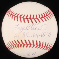 "Tony Oliva Signed OML Baseball Inscribed ""AL BC 64-65-71"", ""304 - BA"" & ""AL ROY 1964"" (JSA Hologram) at PristineAuction.com"