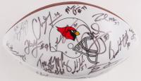 2000 Arizona Cardinals Logo Football Team-Signed by (35) with Frank Sanders, Scott Player, Kwamie Lassiter, Jake Plummer, Pat Tillman (JSA ALOA) at PristineAuction.com
