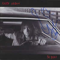 "Keith Urban Signed ""Be Here"" CD Album Insert (JSA COA) at PristineAuction.com"