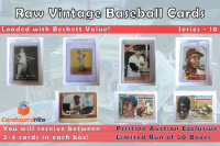 Cardboard Hits Presents Vintage Card Mystery Boxes Series 10 at PristineAuction.com
