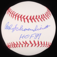 "Red Schoendienst Signed OML Baseball Inscribed ""HOF 89"" (JSA Hologram) at PristineAuction.com"