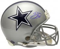 Emmitt Smith Signed Cowboys Full-Size Authentic On-Field Helmet (Schwartz COA & Prova Hologram) at PristineAuction.com