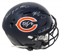 "Dick Butkus, Mike Singletary & Brian Urlacher Signed Bears Full-Size Authentic On-Field SpeedFlex Helmet Inscribed ""Monsters of the Midway"" (Schwartz COA) at PristineAuction.com"