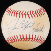 "Jim ""Catfish"" Hunter Signed OAL Baseball (JSA Hologram) at PristineAuction.com"