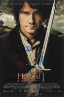 """""""The Hobbit"""" 12x18 Photo Signed by (6) with Aidan Turner, Jed Brophy, John Callen, Martin Freeman, Richard Armitage & Stephen Hunter (AutographCOA Hologram) at PristineAuction.com"""