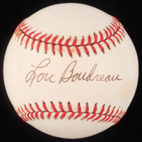 Lou Boudreau Signed OAL Baseball (JSA Hologram) at PristineAuction.com