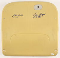 "Bill Russell & Davey Lopes Signed Dodgers Stadium Yellow Seat Back Inscribed ""S.S."" & ""2B"" (JSA COA) at PristineAuction.com"