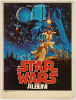 "1977 ""The Star Wars Album"" Soft Cover Book at PristineAuction.com"
