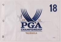 Jordan Spieth Signed 2014 PGA Championship Pin Flag (PSA COA) at PristineAuction.com
