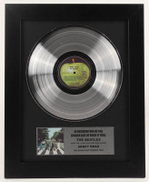 """The Beatles - """"Abbey Road"""" - 17x21 Custom Framed Platinum Record Album Award Display (Imperfect) at PristineAuction.com"""
