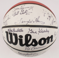 Basketball Coaches NBA Basketball Signed by (22) with Tubby Smith, Bob Huggins, Lute Olson, Mike Krzyzewski, George Karl (JSA ALOA) at PristineAuction.com