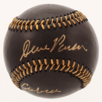 "Dave Parker Signed OML Black Leather Baseball Inscribed ""Cobra"" (PSA COA) at PristineAuction.com"