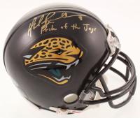 "Mark Brunell Signed Jaguars Mini-Helmet Inscribed ""Pride of the Jags"" (Beckett COA) at PristineAuction.com"