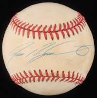 Ivan Rodriguez Signed OAL Baseball (JSA Hologram) at PristineAuction.com