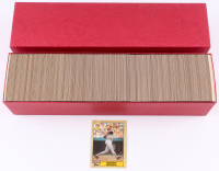 1987 Topps Complete Set of (792) Baseball Cards In Presentation Box with #320 Barry Bonds RC at PristineAuction.com