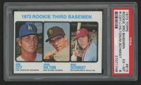 1973 Topps #615 Rookie Third Basemen Ron Cey / John Hilton RC / Mike Schmidt RC (PSA 6) at PristineAuction.com