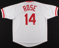 Pete Rose Signed Jersey (PSA COA) at PristineAuction.com