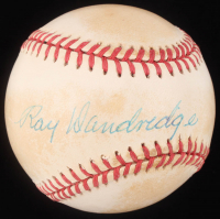 Ray Dandridge Signed ONL Baseball (PSA Hologram) at PristineAuction.com