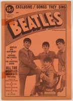 Vintage 1964 The Beatles #1 Program at PristineAuction.com
