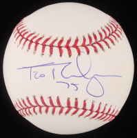 Francisco Rodriguez Signed OML Baseball (MLB Hologram) at PristineAuction.com