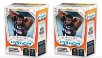 Lot of (2) 2019-20 Panini Prizm Basketball Blaster Box of (6) Packs Each at PristineAuction.com