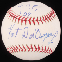 "Kent Desormeaux Signed OML Baseball Inscribed ""H.O.F. '04"" (JSA Hologram) at PristineAuction.com"