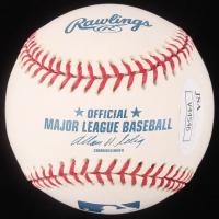 """Kent Desormeaux Signed OML Baseball Inscribed """"H.O.F. '04"""" (JSA Hologram) at PristineAuction.com"""