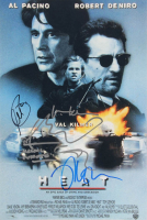 """Heat"" 12x18 Photo Signed by (5) with Al Pacino, Val Kilmer, Michael Mann, Tim Sizemore & Robert De Nino (AutographCOA Hologram) at PristineAuction.com"