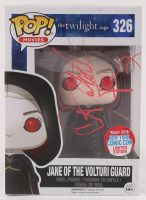 "Dakota Fanning Signed ""The Twilight Saga"" Jane of the Volturi Guard #326 Funko Pop! Vinyl Figure (Beckett Hologram) at PristineAuction.com"