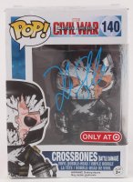 "Frank Grillo Twice-Signed Marvel ""Captain American: Civil War"" Crossbones #140 Funko Pop! Vinyl Figure (PSA Hologram) at PristineAuction.com"