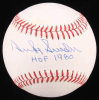 "Duke Snider Signed OML Baseball Inscribed ""HOF 1980"" (JSA COA) at PristineAuction.com"