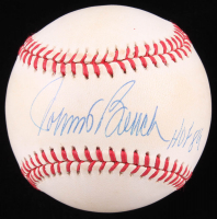 "Johnny Bench Signed ONL Baseball Inscribed ""HOF 89"" (JSA COA) at PristineAuction.com"