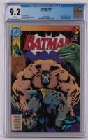 "1993 ""Batman"" Issue #497 DC Comic Book (CGC 9.2) at PristineAuction.com"