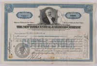 "Vintage 1940 ""The New York Central Railroad Company"" (100) Shares Stock Certificate at PristineAuction.com"