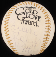 "Brooks Robinson Signed Gold Glove Award Baseball Inscribed ""16x Gold Glove."" (PSA Hologram) at PristineAuction.com"