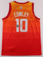 Mike Conley Jr. Signed Jazz Jersey (PSA COA) at PristineAuction.com