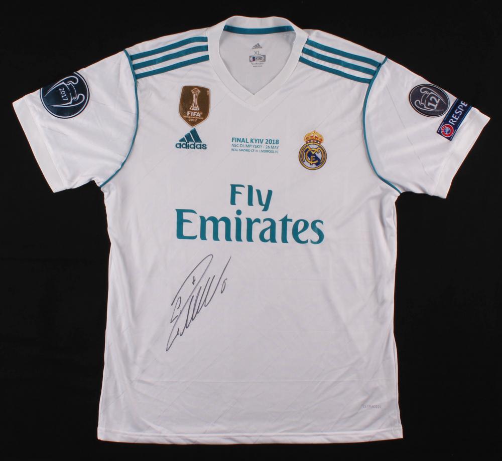 Cristiano Ronaldo Signed Real Madrid Jersey Beckett Coa Pristine Auction